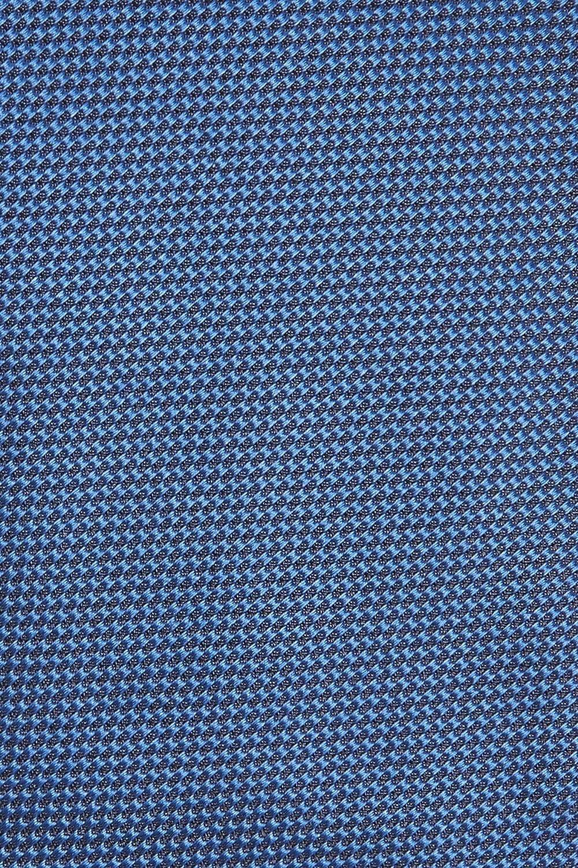 Hugo Boss Tailored Slim Woven Italian Silk Tie Cobalt Blue 50390419