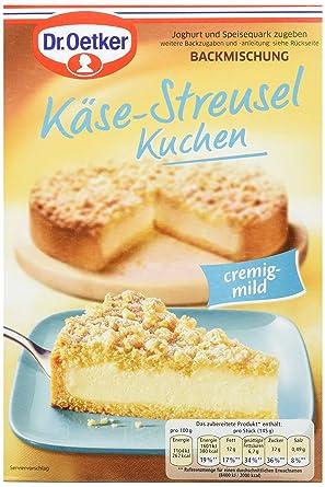 Dr Oetker Kase Streusel Kuchen 6er Pack 6 X 730 G Amazon De