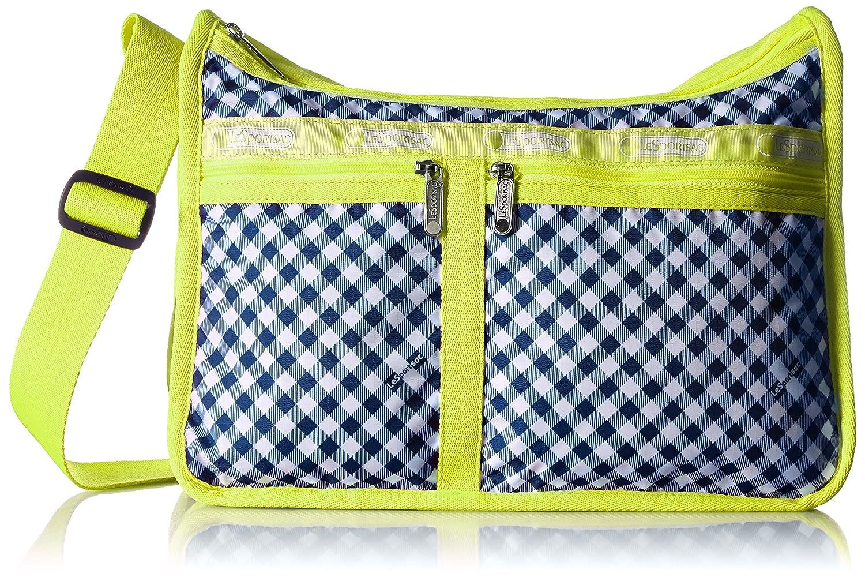 [レスポートサック] ショルダーバッグ DELUXE EVERYDAY BAG 軽量 7507 [並行輸入品] B01EH38ETO D374 (Lime Gingham) D374 (Lime Gingham)
