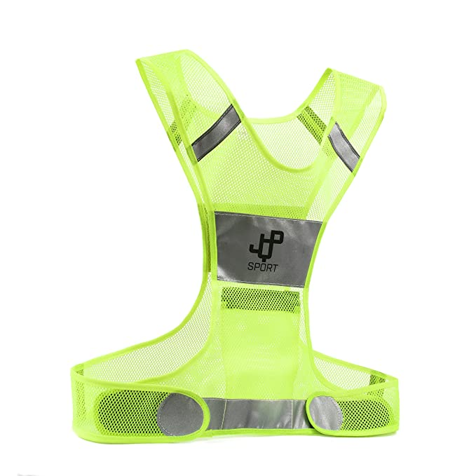 Honesty 2019 Universal High Brightness Safe Reflective Vest Belt Night Running Jogging Biking Riding Elastic Safety Vest Men's Belts