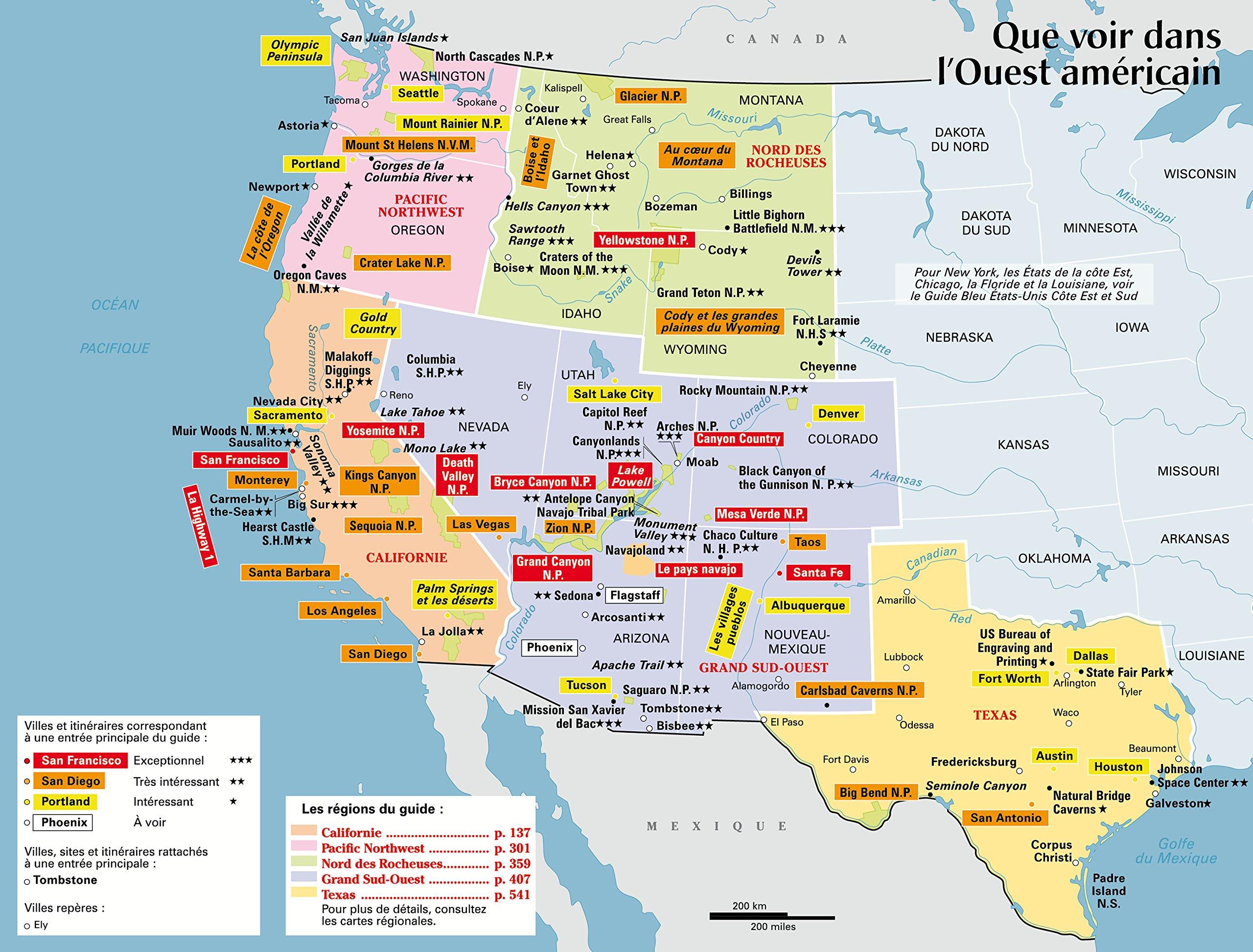 ouest-americain-carte-touristique