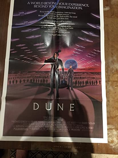 Dune Original Movie Poster 1984 Classic Sci Fi 27 X 41 At Amazon S Entertainment Collectibles Store