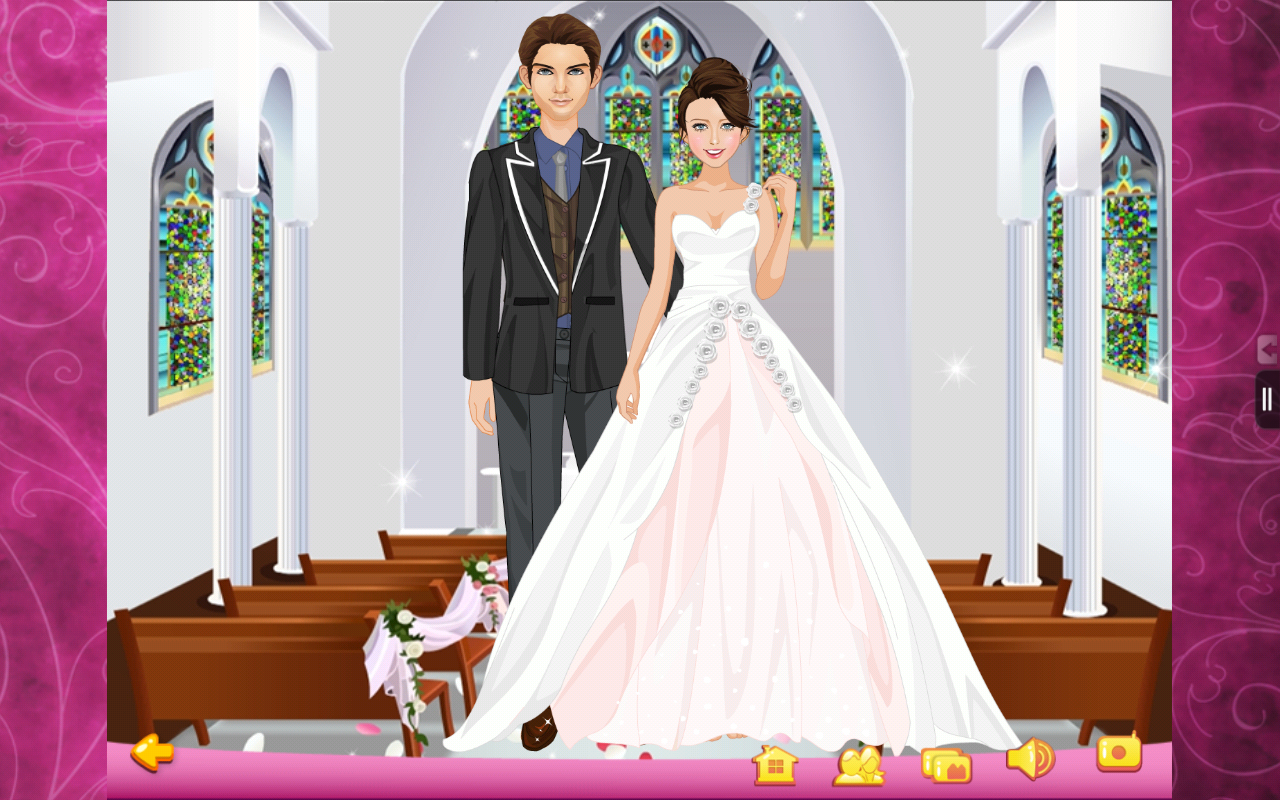 Dress Up - Wedding (Kindle Tablet Edition)