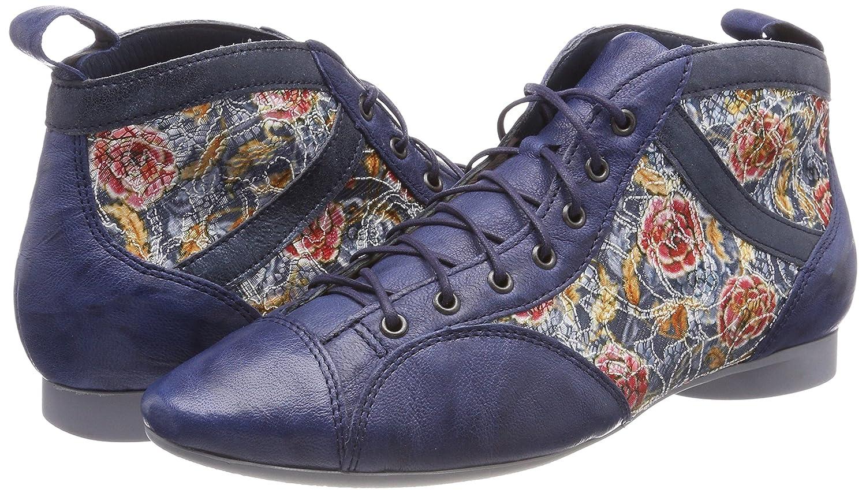 Think! Damen Stiefel Guad_282288 Desert Stiefel Damen Blau (Capri/Kombi 90) 115209