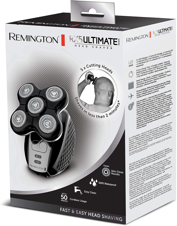Remington RX5 Ultimate Series XR1500 - Afeitadora para la Cabeza ...