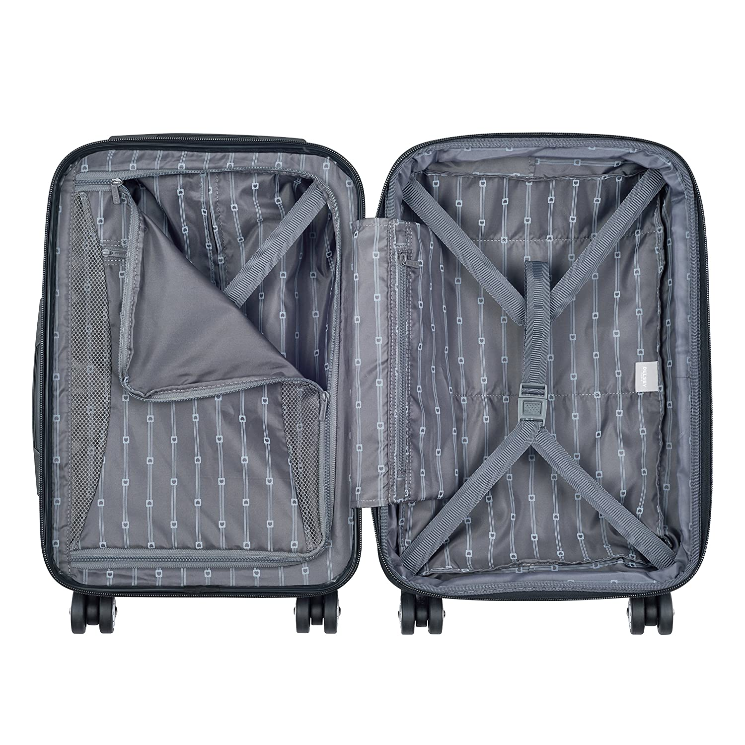 Delsey Helium Aero Carry-On Spinner Trolley Blue One Size