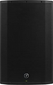 Mackie THUMP Boosted Series, 15-Inch 1300-Watt Loudspeaker with Bluetooth, High Performance Amplifiers, Built-in Mixers, and Power Factor Correction - Black (THUMP15BST)