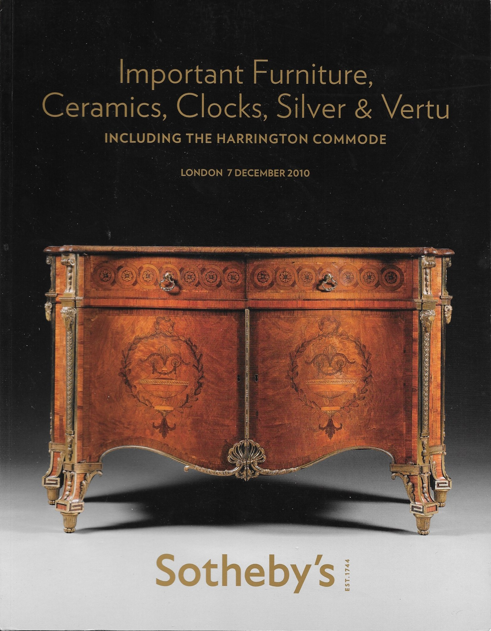 Sotheby S Important Furniture Ceramics Clocks Silver And Vertu