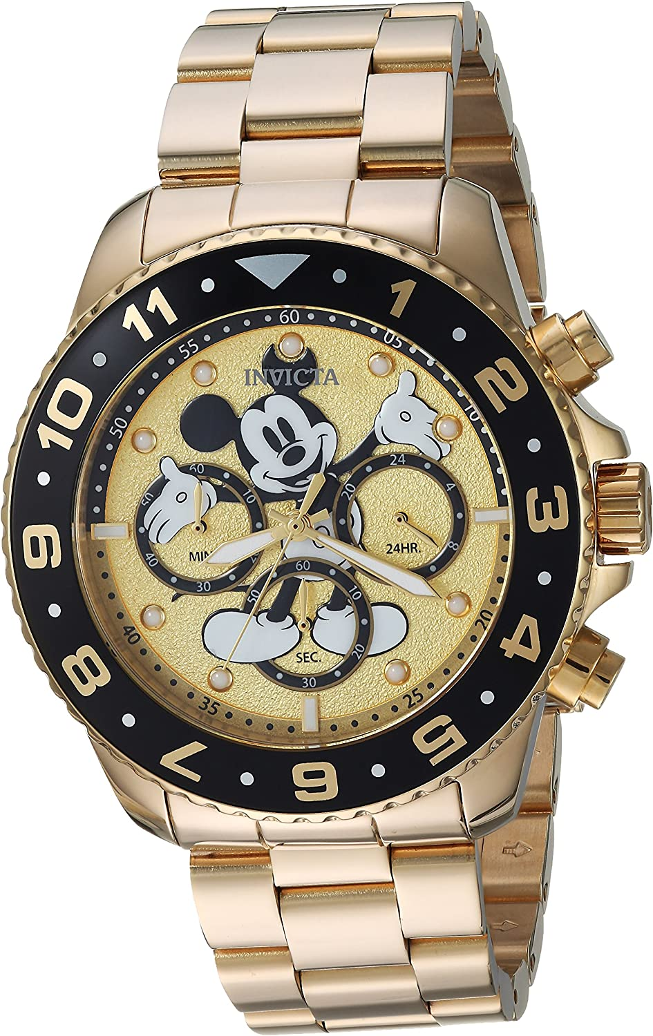 Invicta Men s Disney Limited Edition Quartz Watch with Stainless-Steel Strap
