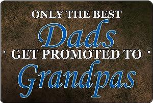 Rogue River Tactical Funny Dad Grandpa Shop Metal Tin Sign Wall Decor Garage Man Cave