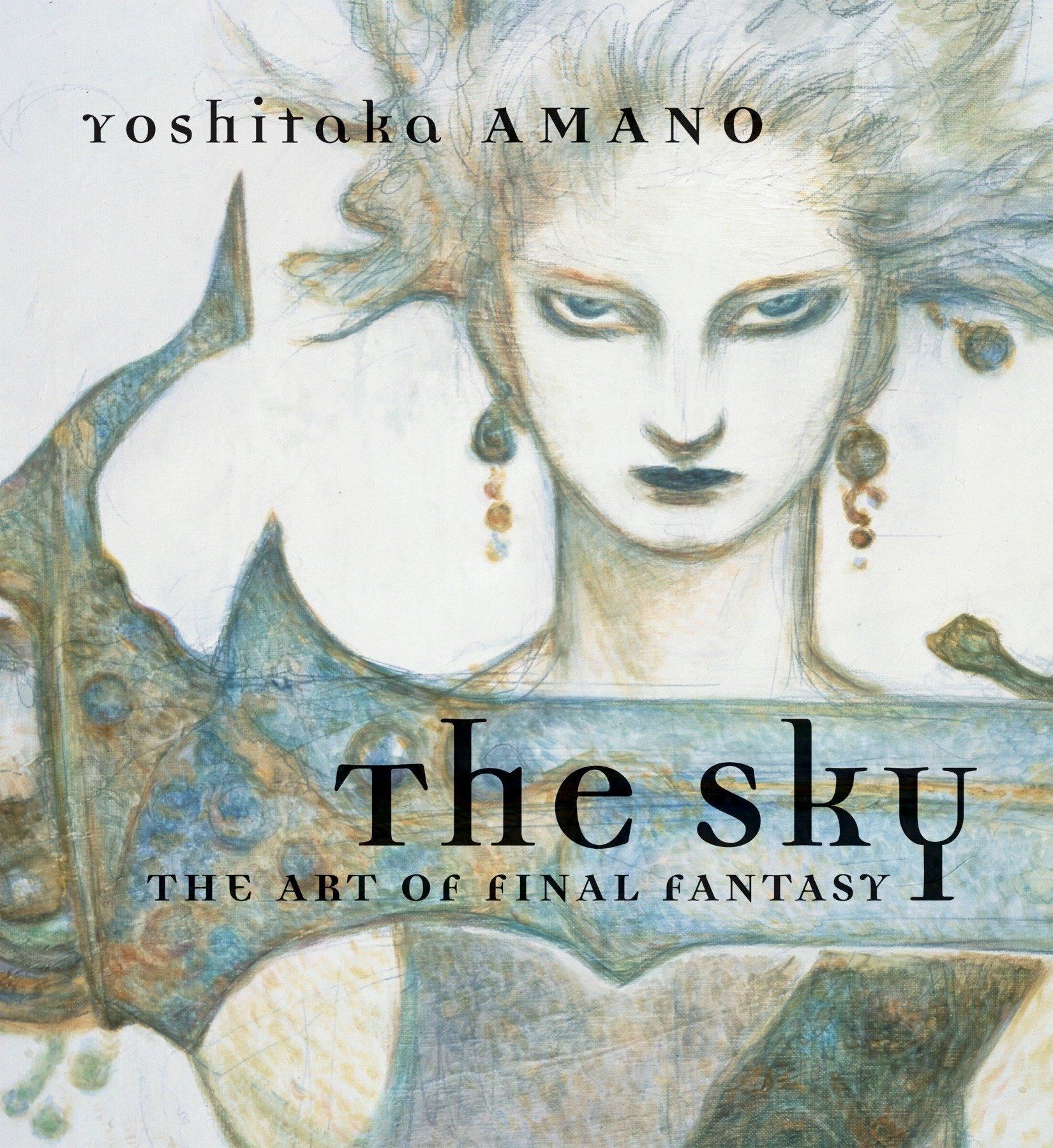 The Sky: The Art of Final Fantasy Slipcased Edition by Amano, Yoshitaka (ART)
