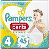 Pampers Premium Protection Pants, Größe 4 (9-14 kg), 45 Windeln