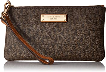 5ab863ca9d8 MICHAEL Michael Kors Signature Jet Set Item Medium Wristlet
