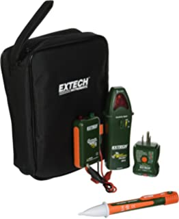 extech cb10-kit handy electrical troubleshooting kit with 5 functions