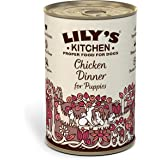 Lily's Kitchen Puppy Chicken Complete Wet Dog Food (6 x 400g)