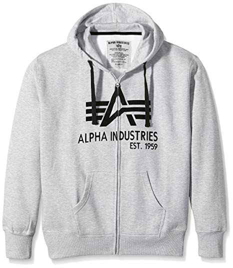 Alpha Industries Herren Sweatshirt Big A Classic Zip: Amazon.de: Bekleidung