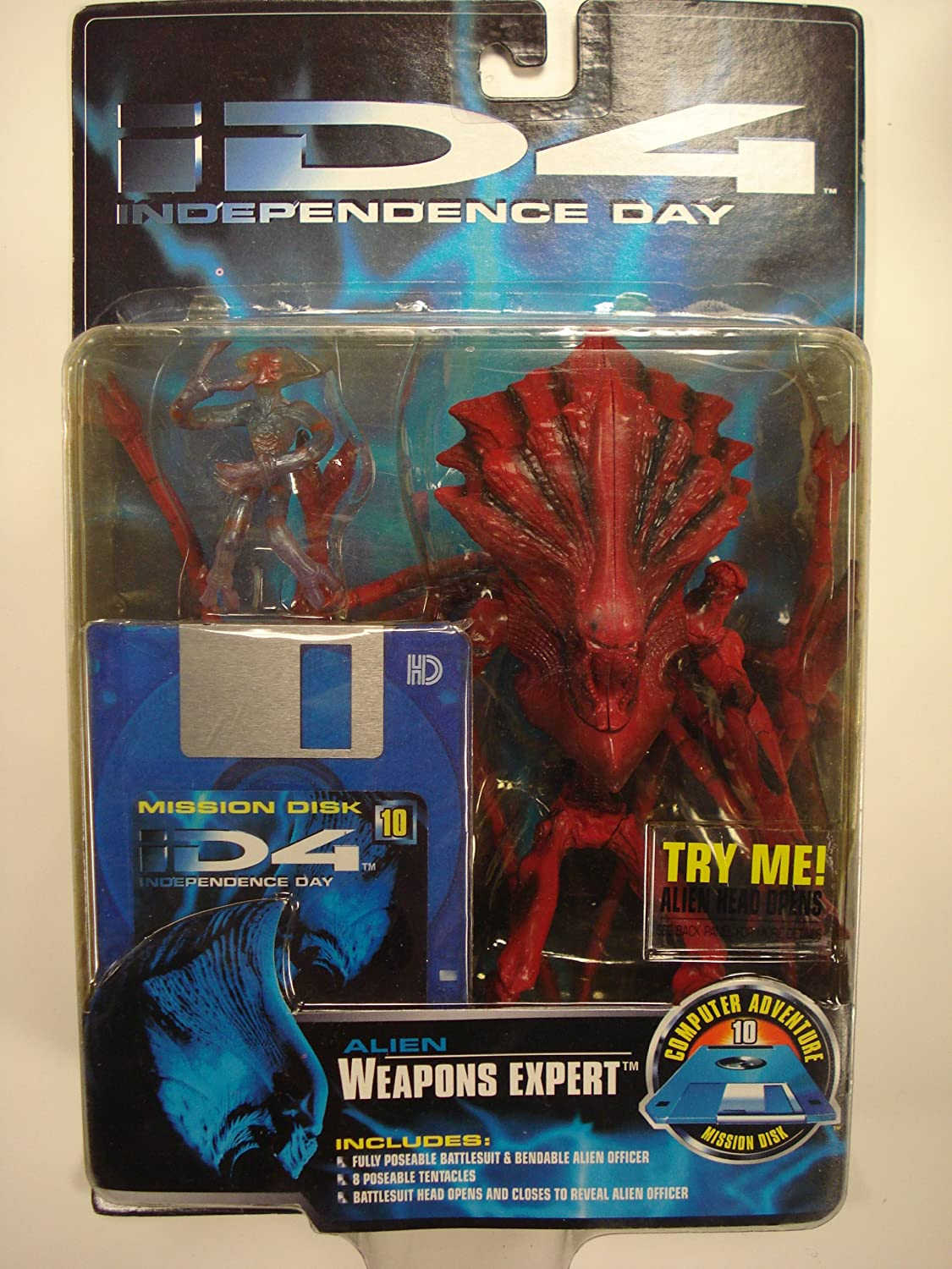 ID4 Independence Day : Alien Weapons Expert 9 Figure Figure Figure Trendmasters bbe093