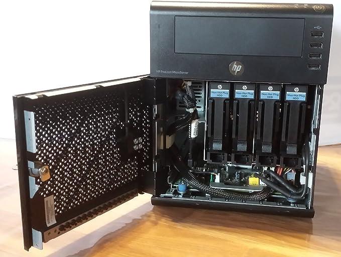 HP MicroServer AMD TurionII N40L - Servidor (DualCore 1.50 GHz 1 ...