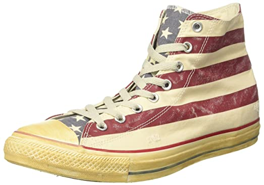 Converse Vintage Usa Flag Sporting High New Size .