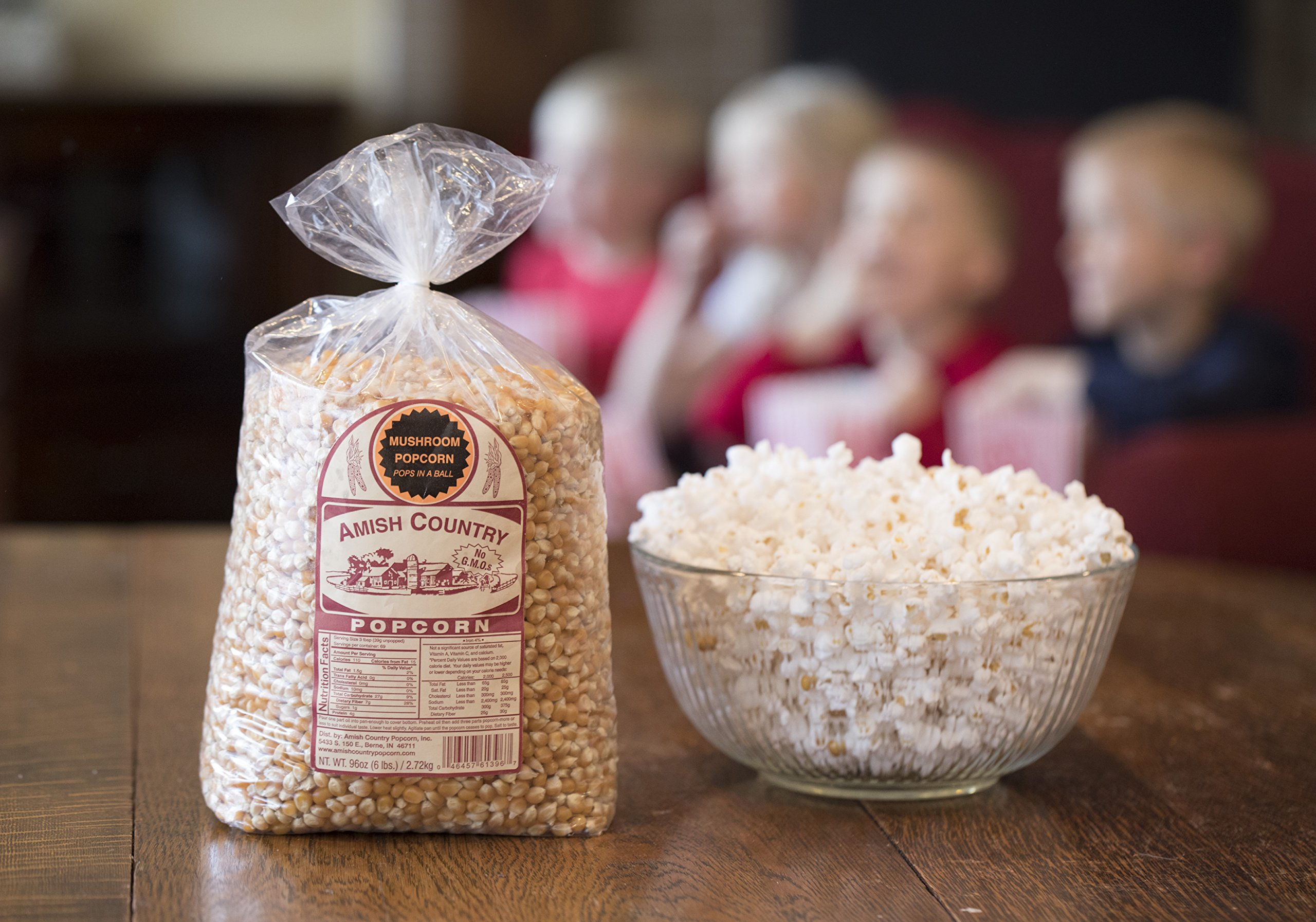 Amish Country Popcorn - Mushroom Popcorn (6 Pound Bag) - Old Fashioned, Non GMO, Gluten Free, Microwaveable, Stovetop and Air Popper Friendly - with Recipe Guide by Amish Country Popcorn (Image #4)