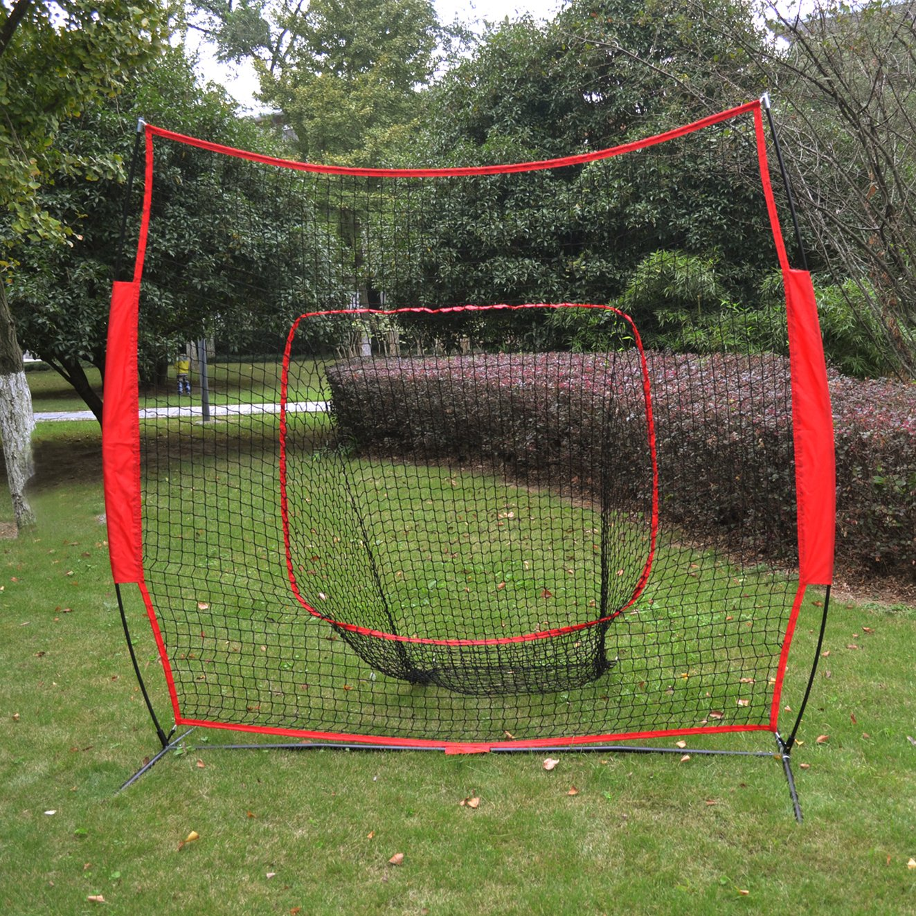 Baseball Net Cages Sport Play Indoor Outdoor Elevated Portable Soft Toss by BenefitUSA