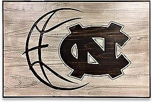 Olga212Patrick Basketball Decor North Carolina Tarheels Go Heels UNC Art Wooden sign Rustic Vintage Carved 3D Art Engraved Gift Idea Sports