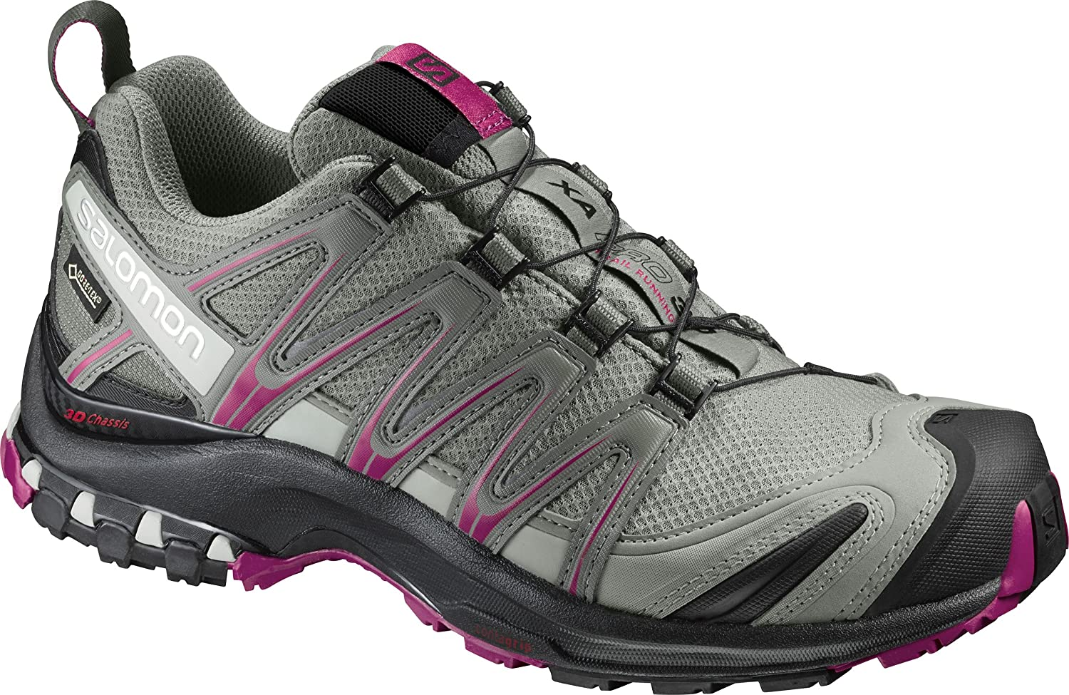 Salomon Women's Xa Pro 3D GTX W Trail Runner B01HD2S02C 8 M US|Shadow