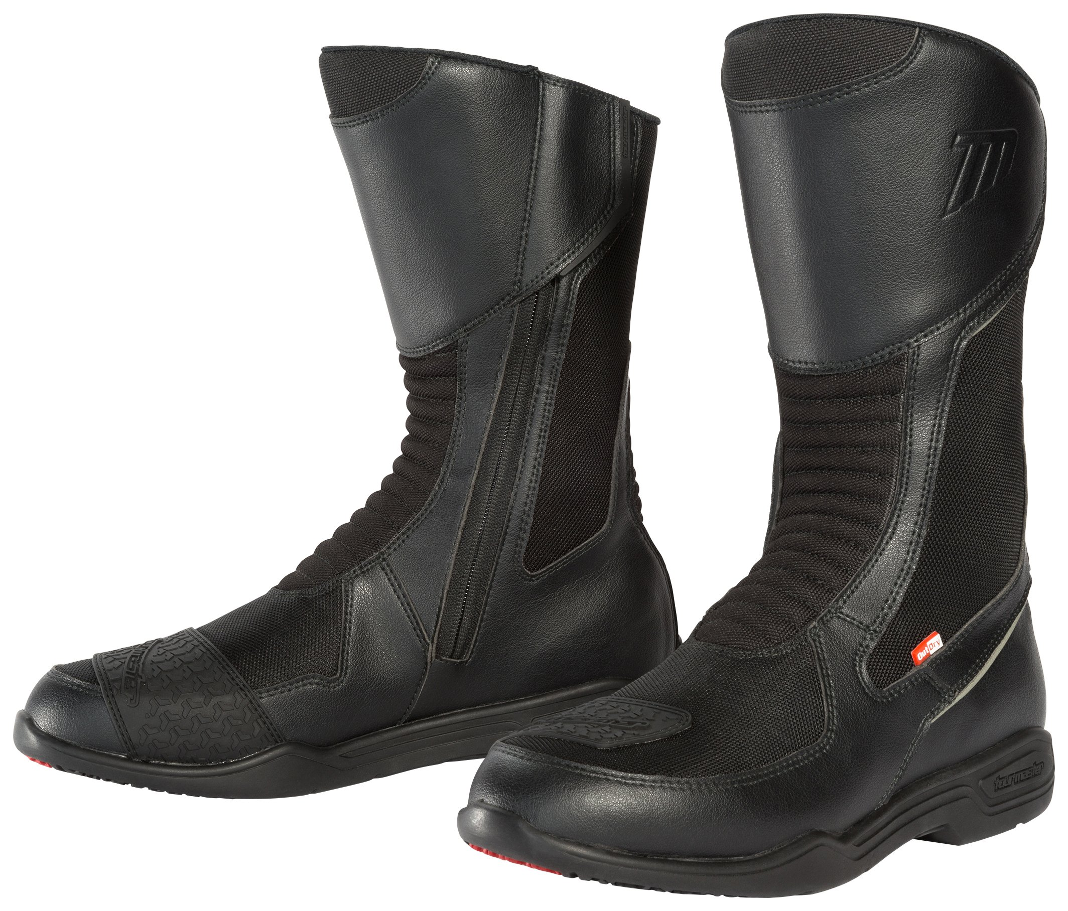 TourMaster Men's Epic Air Touring Motorcycle Boots (Black, Size 12) by Tourmaster