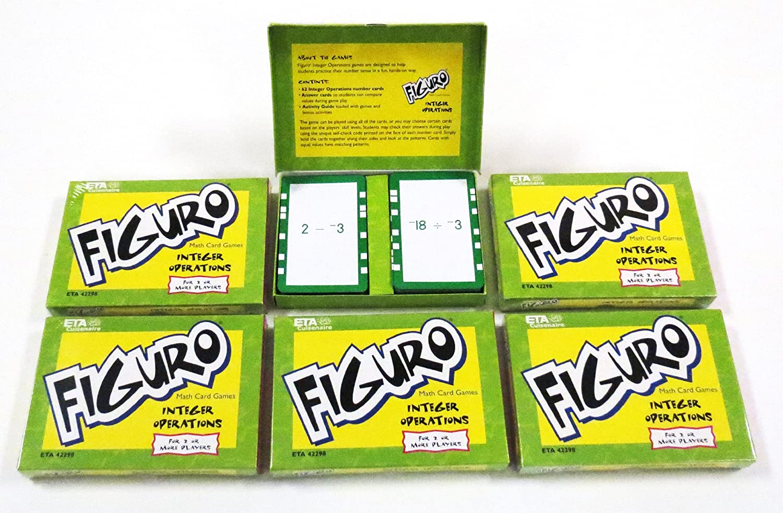 【驚きの値段】 ETA hand2mind hand2mind Figuro整数操作カードDecks Classpack Classpack B008N1AP1W B008N1AP1W, にしかわ茶道具:51e5c3fd --- diceanalytics.pk