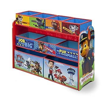 Amazon Com Delta Children Deluxe Multi Bin Toy Organizer Nick Jr