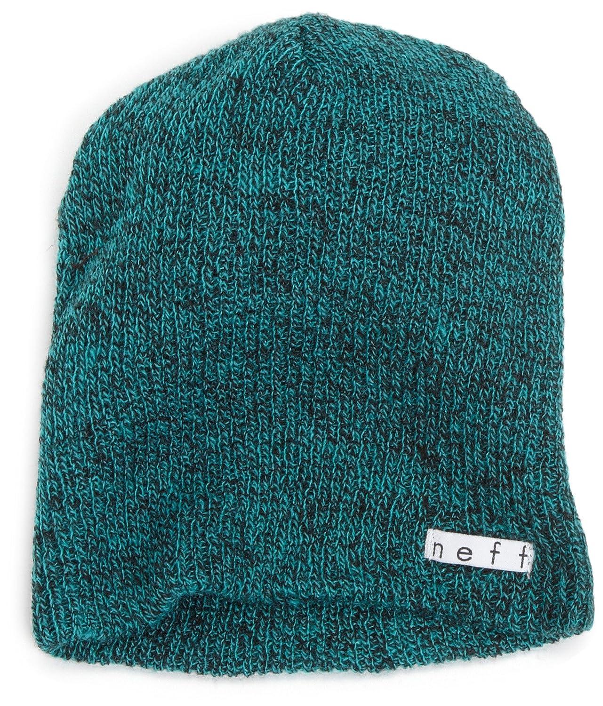 帽子 ネフ NEFF デイリー ヘザー ビーニー NF00006 DAILY HEATHER BEANIE ニット帽 メンズ スノーボード B004TKHLEU グリーン/ブラック One Size
