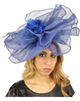 Gorgeous Amelia Large Ascot Derby Fascinator Hat - With Headband - Available in 30 Colours
