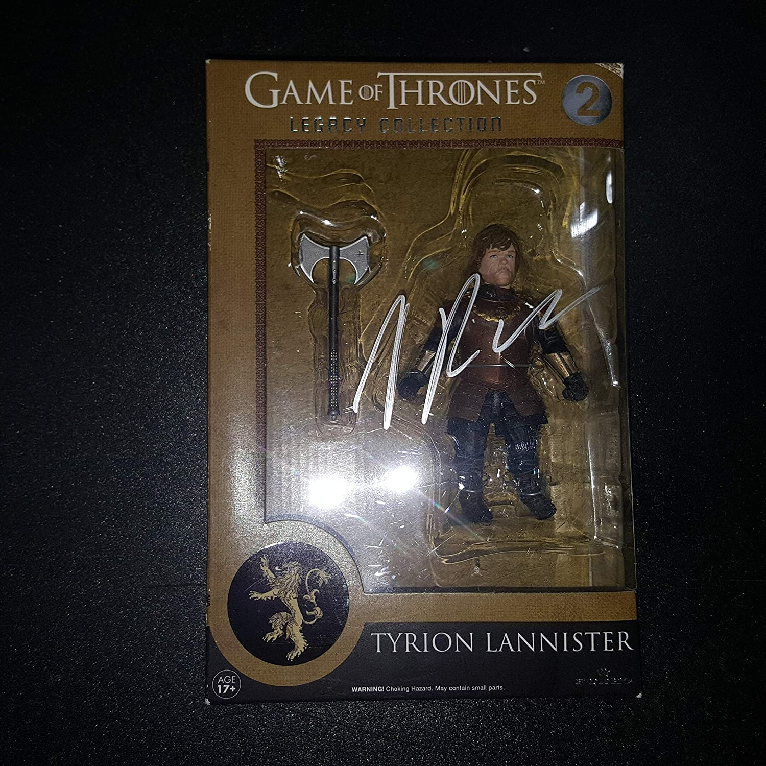 Peter Dinklage - Autographed Signed Tyrion Lannister Figure - GAME OF THRONES Legacy Collection 2