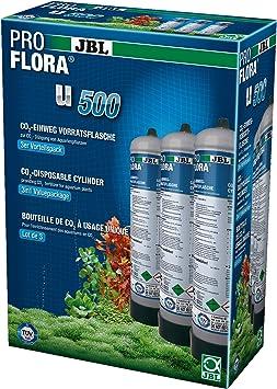 JBL ProFlora u500 2 CO2 Vorratsflasche 3 Stück