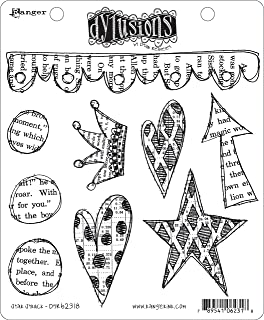 Ranger DYR-64671 Dyan Reaveleys Dylusions Cling Stamp Collections 8.5X7-Home