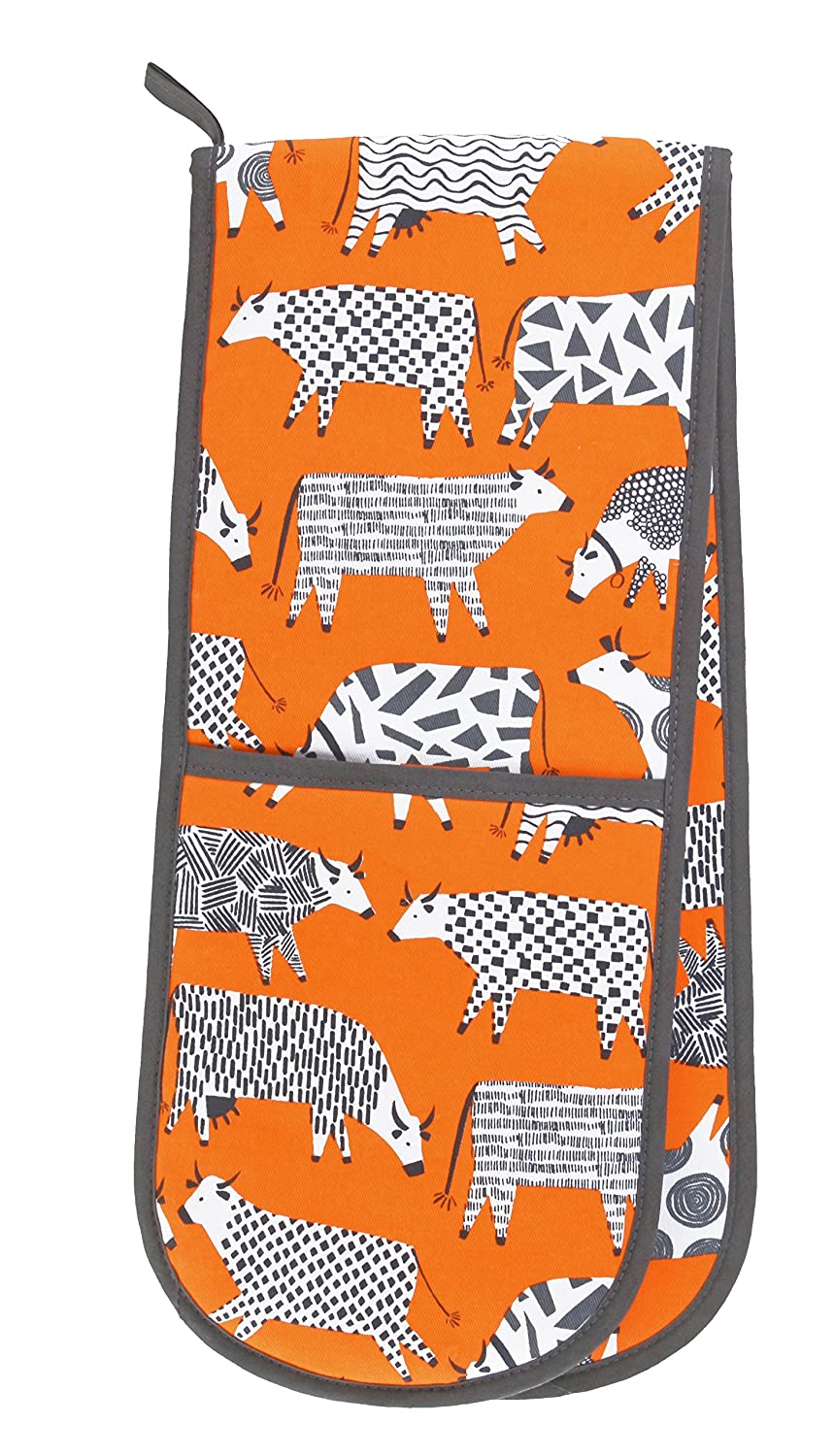 """Ulster Weavers 34.6"""" x 7.1"""" Curious Cows Double Glove"""