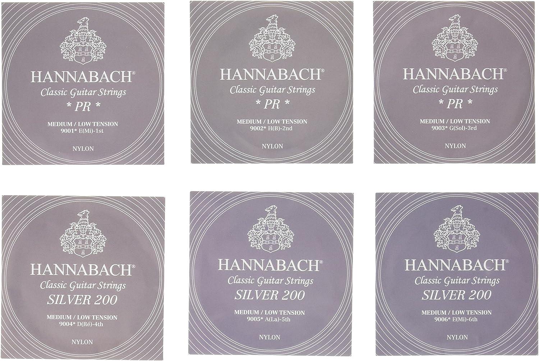 Hannabach 652667.0 - Cuerdas para guitarra clásica: Amazon.es ...