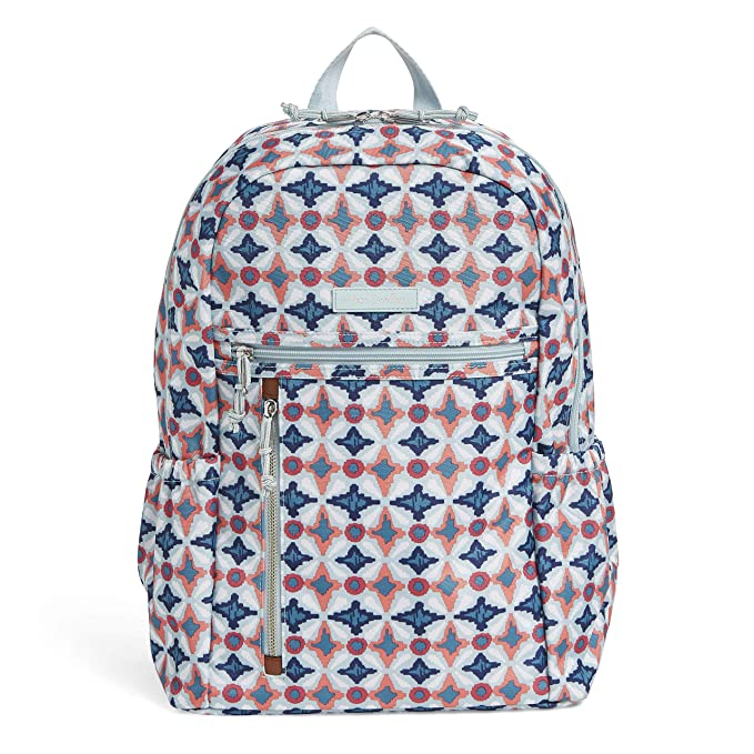 Vera Bradley Lighten Up Study Hall Backpack, Polyester