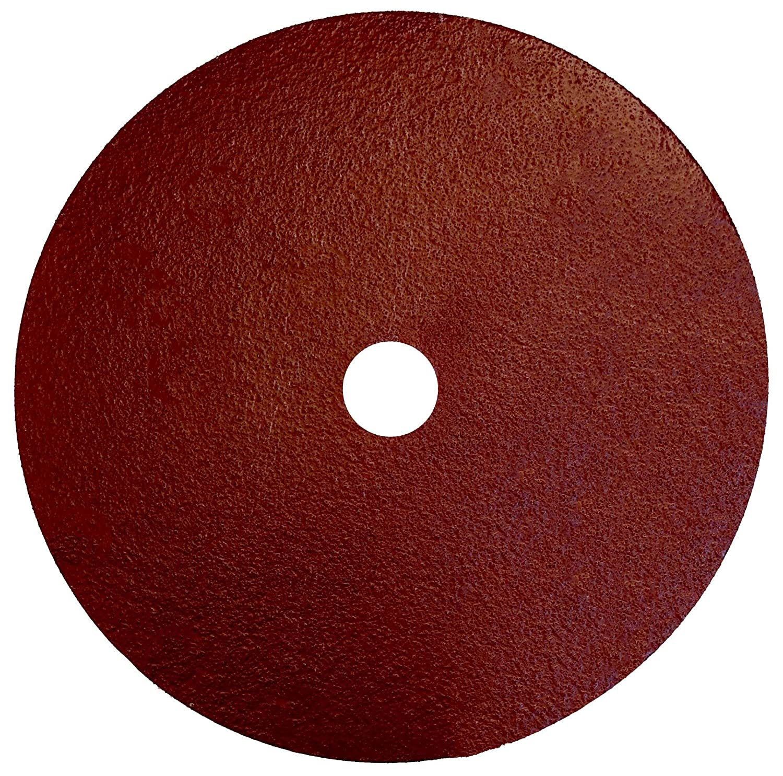 Weiler 60426 Tiger Aluminum Resin Fiber Sanding /& Grinding Disc 120 Grit 7 Diameter Pack of 25 7//8 Arbor Hole,