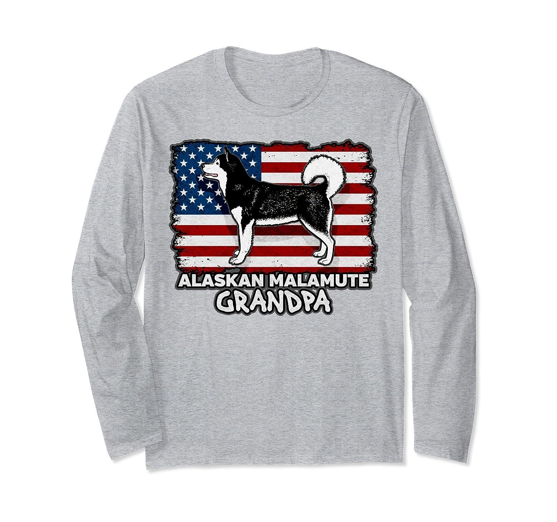 92017e9d6 Alaskan Malamute Shirt Grandfather Tee-Colonhue
