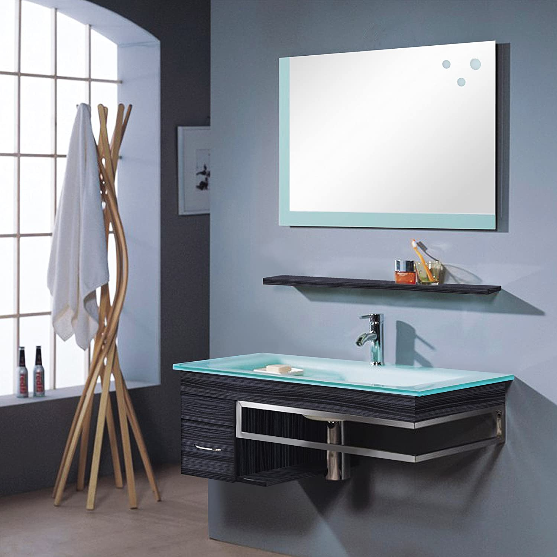 Badezimmermöbel Set - Badmöbel Bari - Wenge - M-70130/238 ... | {Badezimmermöbel 68}