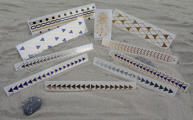 Metallic Flash Tattoos Bracelet Value Pack # 1 TattooFun