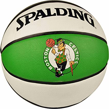 Spalding NBA Boston Celtics Team colores y logotipo de goma ...