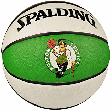 Spalding NBA Boston Celtics Team colores y logotipo de goma ...
