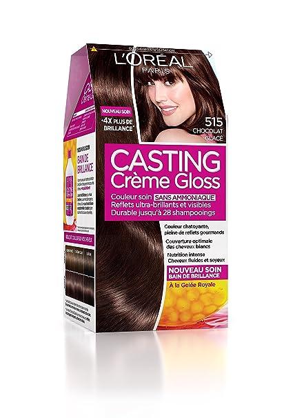 Coloration cheveux sans ammoniaque chocolat