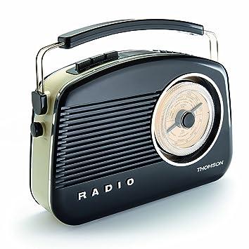 Thomson DAB03 - Radio sintonizador DAB, color negro