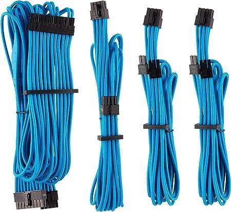 Corsair Premium Sleeved Netzteil Starter Kabel Set Typ4 Computer Zubehör