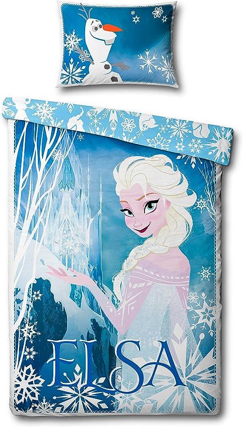 Copripiumino Di Frozen.Disney Frozen Completo Copripiumino Singolo Elsa Reversibile