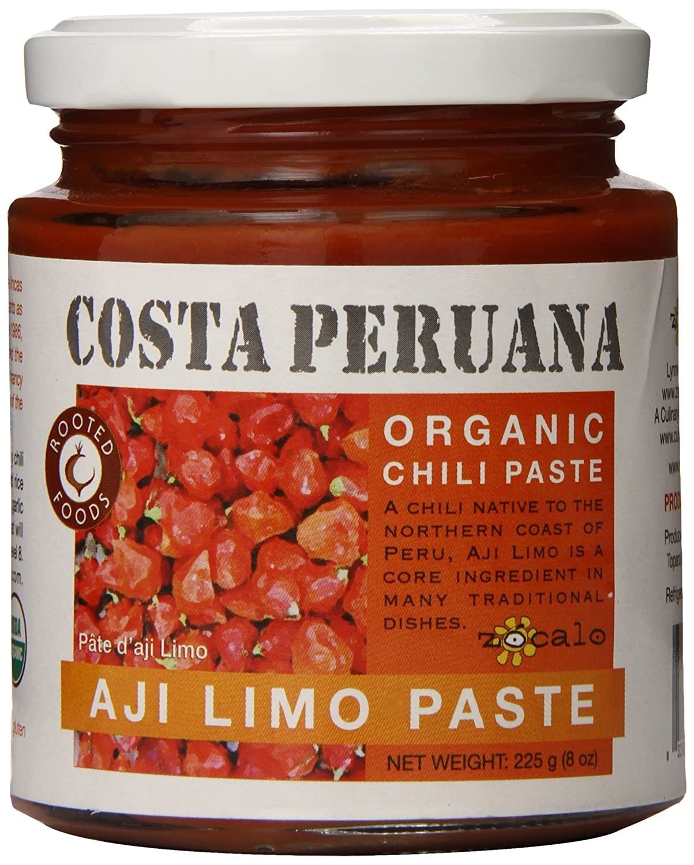 amazon com zócalo peru aji limo paste organic 8 ounce chili