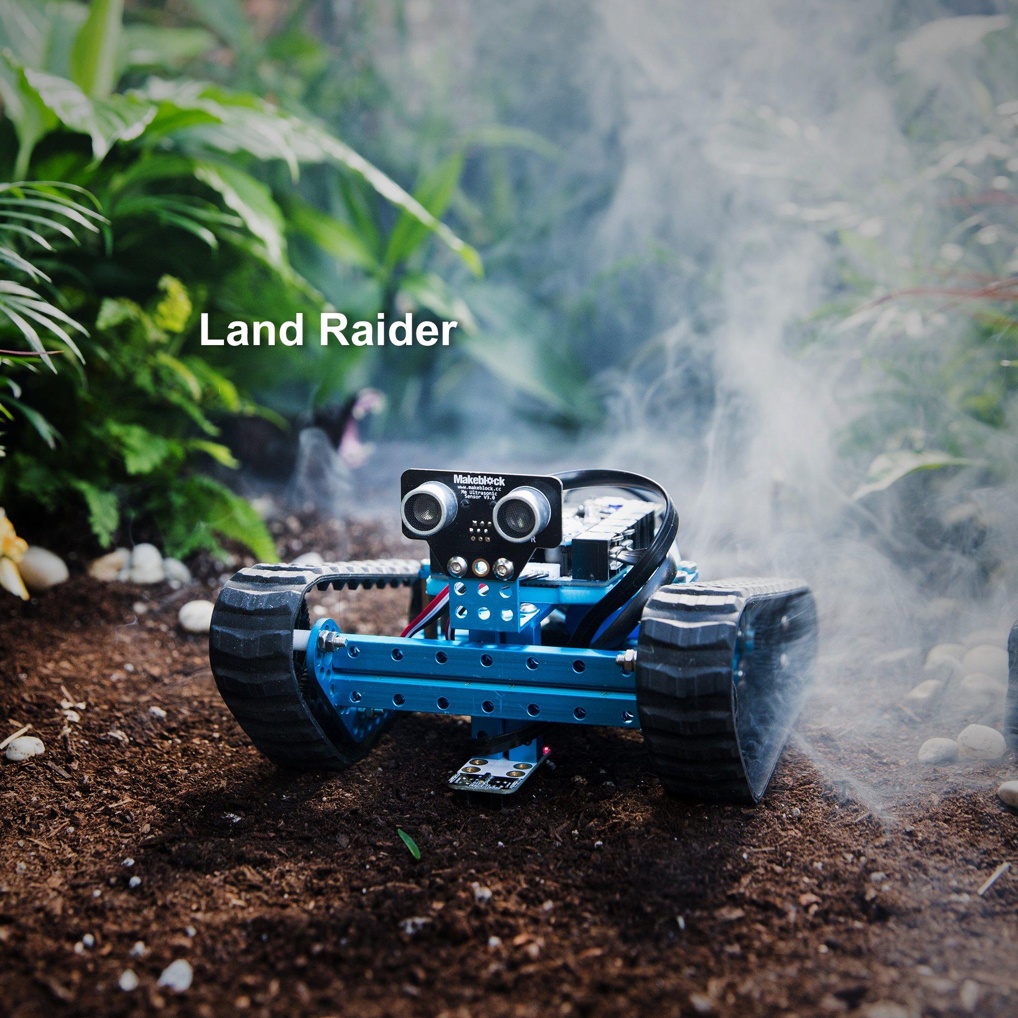 Makeblock Programmable mBot Ranger Robot Kit, STEM Educational Engineering Design & Build 3 in 1 Programmable Robotic System Kit - Ages 10+ by Makeblock (Image #2)